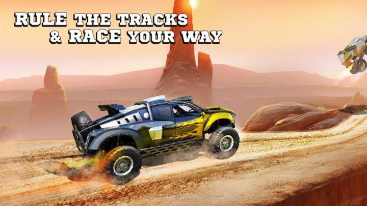 دانلود Monster Trucks Racing 3.4.116 بازی مسابقه ماشین های هیولا اندروید + مود