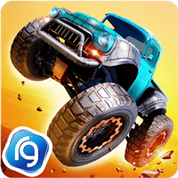 Monster Trucks Racing 2.3.4 دانلود بازی مسابقه کامیون های هیولا اندروید + مود + دیتا