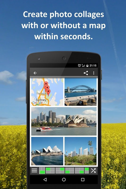 دانلود PhotoMap Pro Gallery 9.8 برنامه گالری پیشرفته اندروید