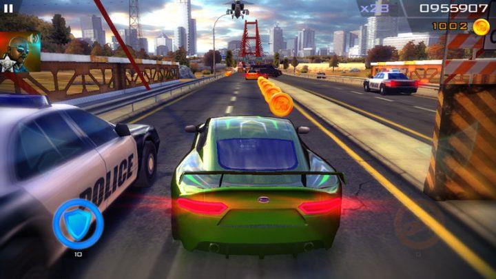 Redline Rush 1.3.8 دانلود بازی ماشین سواری تعقیب پلیس اندروید + مود + دیتا