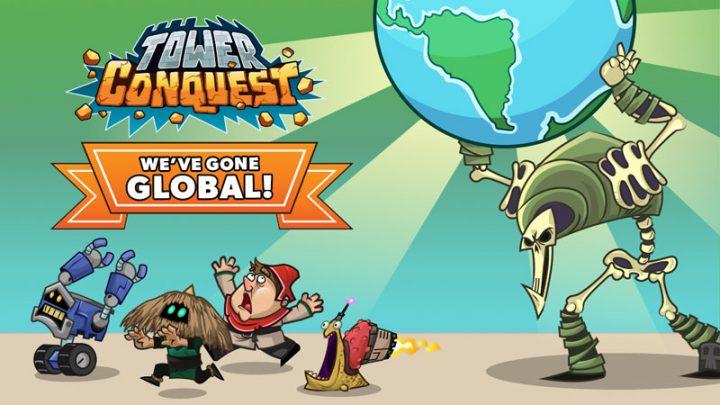 Tower Conquest 22.00.46g دانلود بازی استراتژی فتح قلعه اندروید + مود