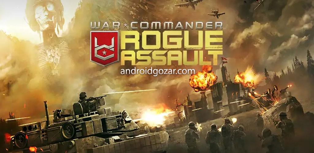 دانلود War Commander: Rogue Assault 3.21.1 – بازی فرمانده جنگ اندروید