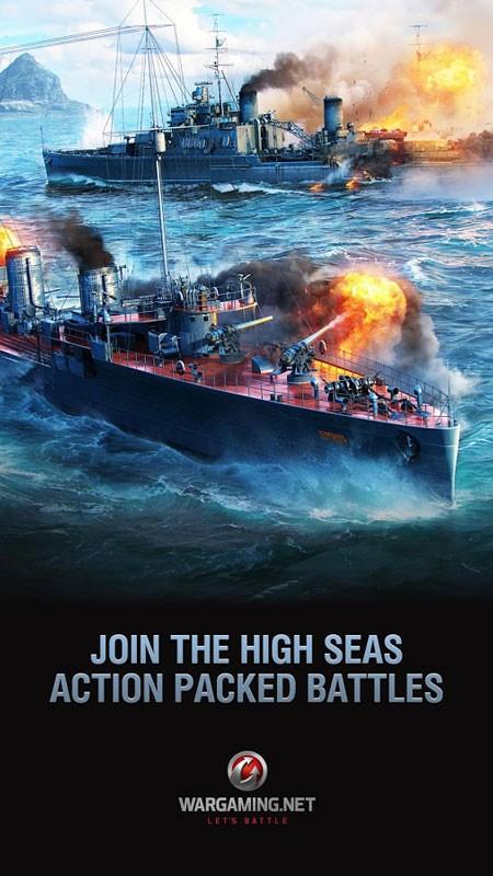 دانلود World of Warships Blitz 3.5.3 بازی نبرد کشتی های جنگی اندروید