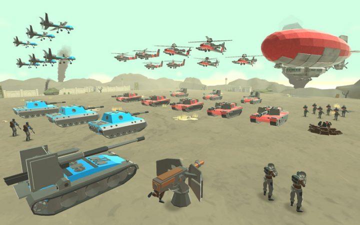 Army Battle Simulator 1.2.70 دانلود بازی شبیه ساز جنگ ارتش اندروید + مود