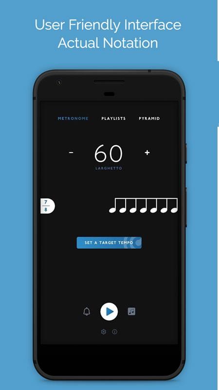 BeatNav Metronome 1.0.3 دانلود نرم افزار مترونوم قدرتمند اندروید