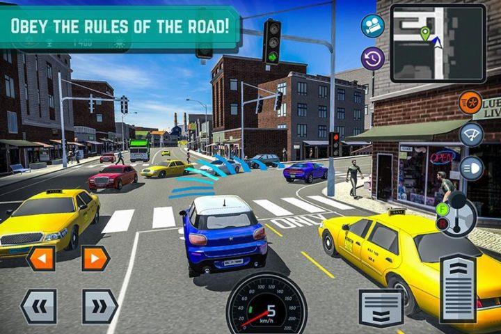 دانلود Car Driving School Simulator 3.2.7 – بازی آموزشگاه رانندگی اندروید + مود