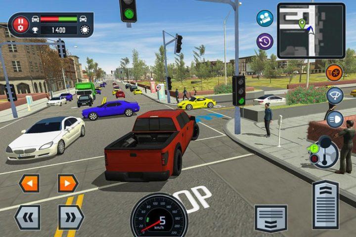 Car Driving School Simulator 2.7 دانلود بازی آموزشگاه رانندگی اندروید + مود + دیتا