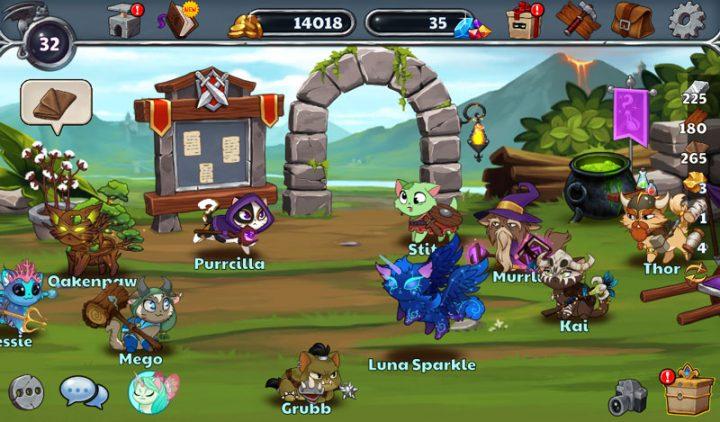 دانلود Castle Cats 2.14.4 بازی ماجراجویی قلعه گربه ها اندروید + مود