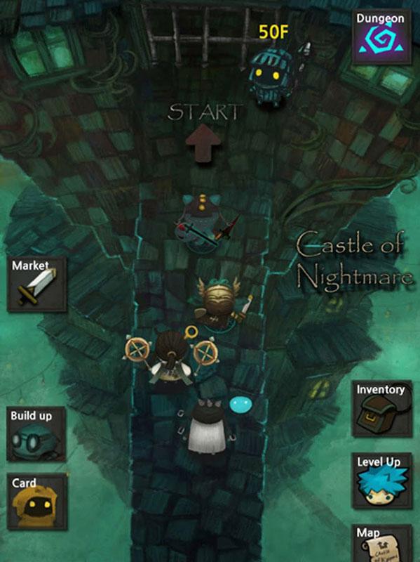 Castle of Nightmare Gold 1.1.0 دانلود بازی نقش آفرینی قلعه کابوس اندروید + مود