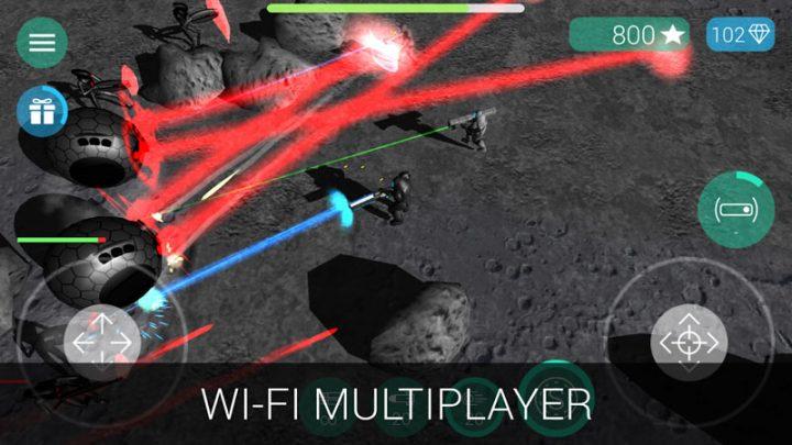CyberSphere: Scifi Shooter 1.8.7 دانلود بازی اکشن سیاره سایبری اندروید + مود
