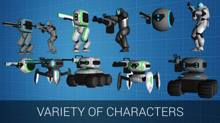 CyberSphere: Scifi Shooter 1.8.5 دانلود بازی اکشن سیاره سایبری اندروید + مود