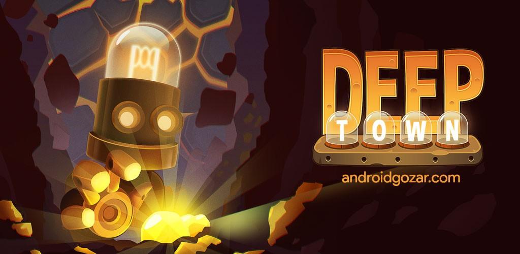 دانلود Deep Town: Mining Factory 4.8.0 بازی کارخانه معدن اندروید + مود