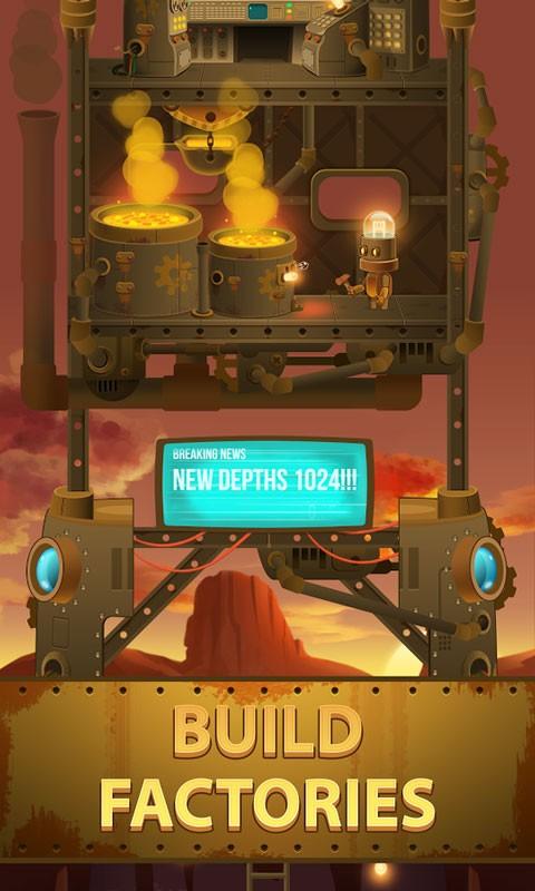 Deep Town: Mining Factory 3.8.4 دانلود بازی کارخانه معدن اندروید + مود