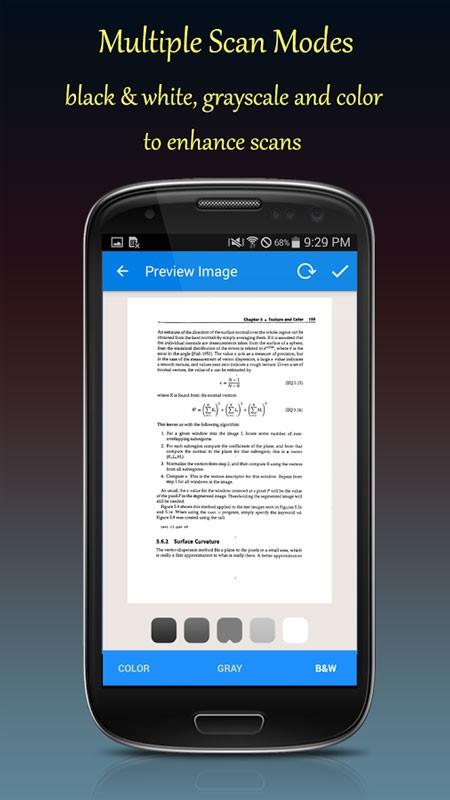 Fast Scanner Pro 4.1.5 دانلود نرم افزار اسکنر قابل حمل قدرتمند اندروید