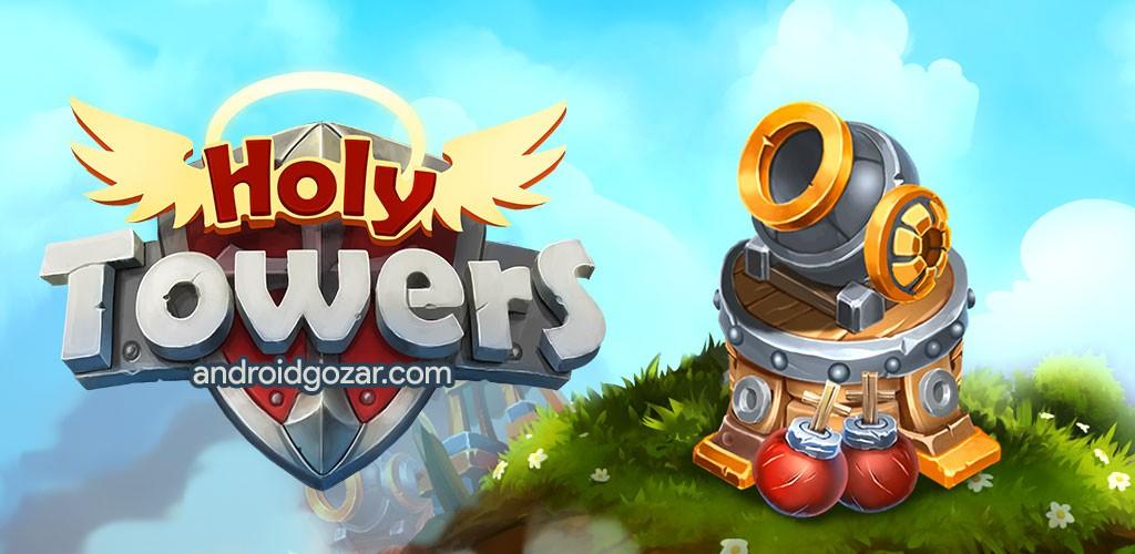 Holy TD: Epic Tower Defense 1.39 دانلود بازی دفاع از کلیسا قرون وسطی اندروید + مود