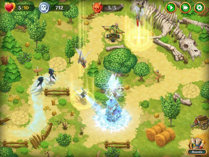 Holy TD: Epic Tower Defense 1.52 دانلود بازی دفاع از کلیسا قرون وسطی اندروید + مود