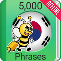 Learn Korean Phrasebook Premium – 5000 Phrases 1.6.3 یادگیری زبان کره ای اندروید