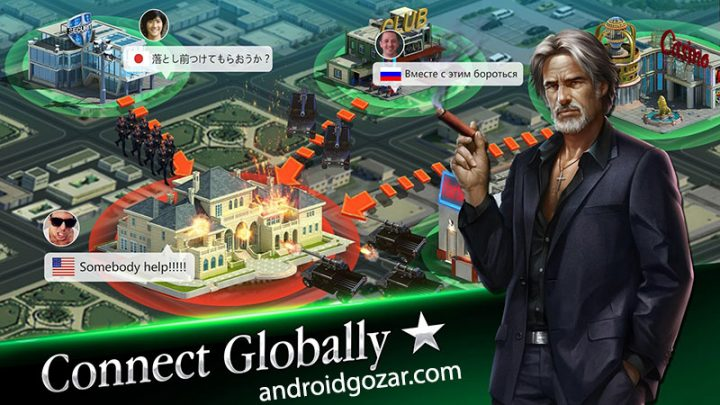 Mafia City 1.3.336 دانلود بازی اکشن استراتژی شهر مافیا اندروید
