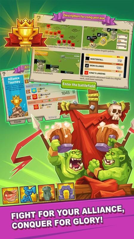Monster Castle 2.1.0.6 دانلود بازی استراتژی قلعه هیولا اندروید