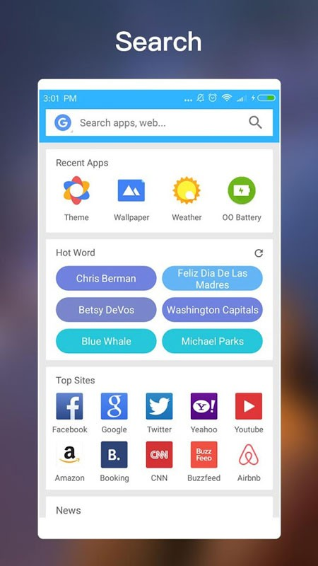 OO Launcher for Android O 8.0 Oreo Prime 4.4 دانلود لانچر اندروید 8 اندروید