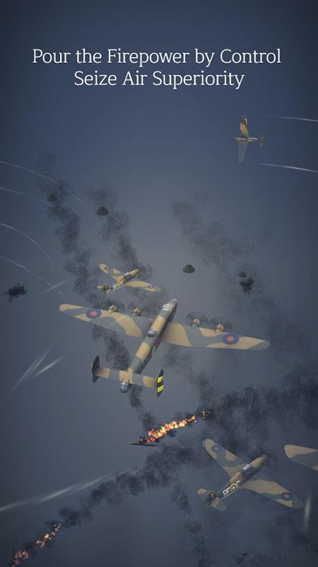 Tap Flight Wings : Beyond Tail 2.60 دانلود بازی نبرد اسکادران اندروید + مود