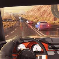 Traffic Xtreme 3D 1.02 دانلود بازی مسابقه رانندگی ترافیک اندروید + مود