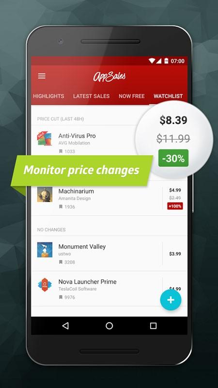 AppSales Premium 9.1 دانلود برنامه و بازی های رایگان شده گوگل پلی اندروید