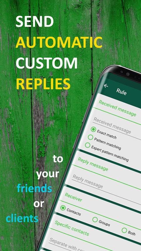 AutoResponder for WhatsApp Pro 1.1.4 پاسخ خودکار به واتس اپ اندروید