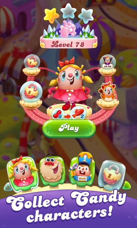 دانلود Candy Crush Friends Saga 1.26.8 – بازی دوستان کندی کراش اندروید + مود
