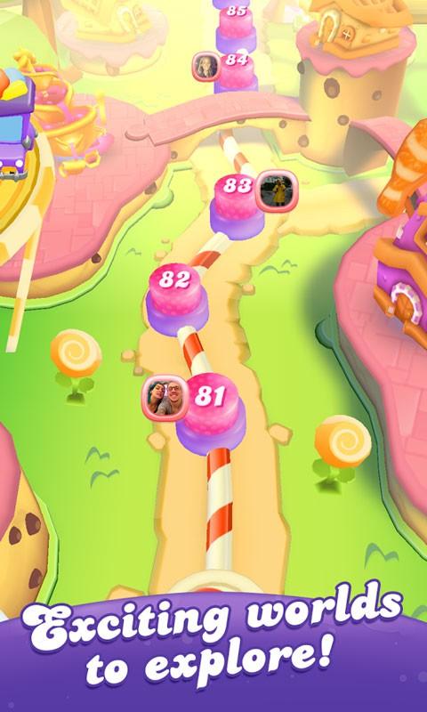 Candy Crush Friends Saga 1.20.7 دانلود بازی دوستان کندی کراش اندروید + مود