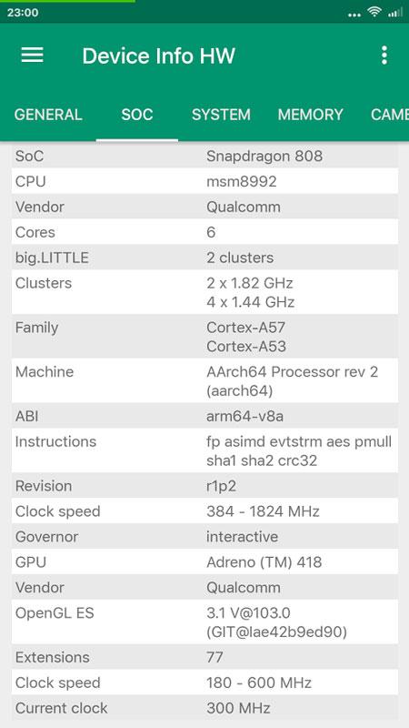 Device Info HW+ PRO 4.15.3 نمایش اطلاعات سخت افزاری اندروید