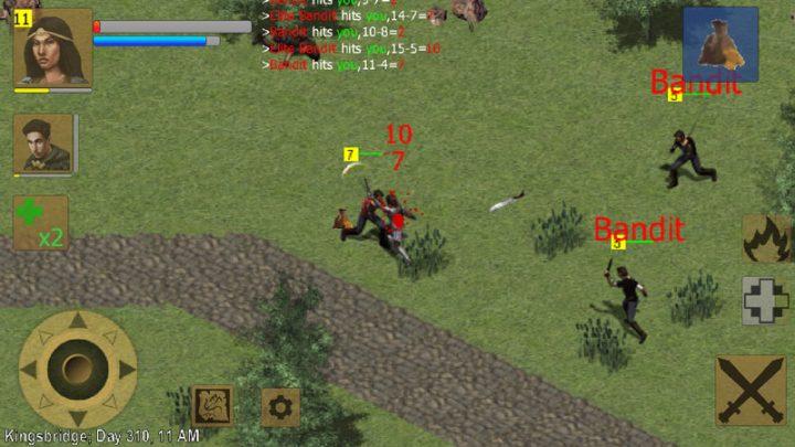 Exiled Kingdoms RPG Full 1.2.1121 دانلود بازی پادشاهی تبعید شده اندروید + مود