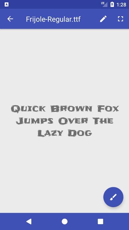 Font Viewer Plus Full 1.4.2c دانلود برنامه نمایش دهنده فونت در اندروید