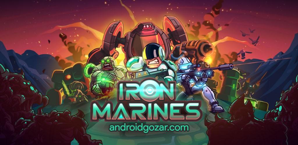 دانلود Iron Marines 1.5.10 بازی استراتژیک تفنگداران آهنین اندروید + مود