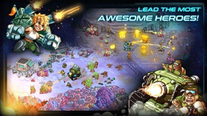دانلود Iron Marines 1.5.21 بازی تفنگداران آهنین اندروید + مود