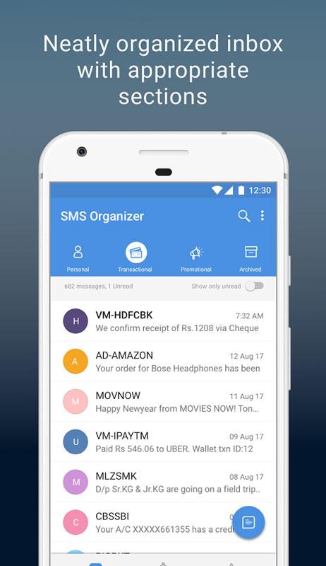 Microsoft SMS Organizer 1.1.115 دانلود نرم افزار مدیریت پیامک اندروید