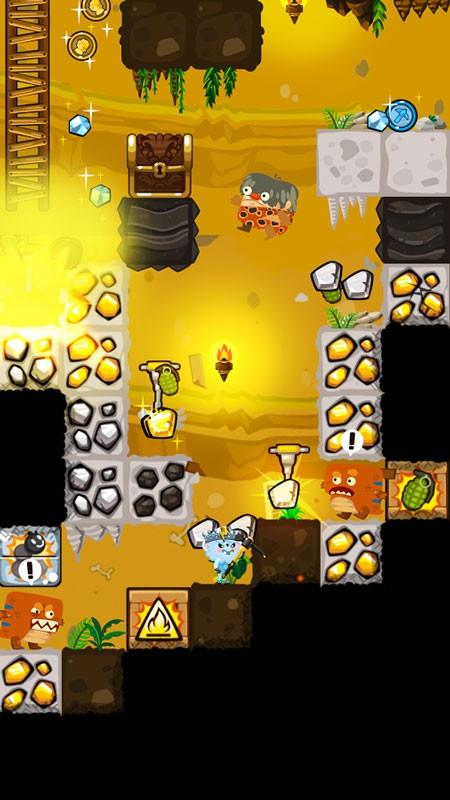 دانلود Pocket Mine 3 6.4.0 بازی معدن کوچک 3 اندروید + مود