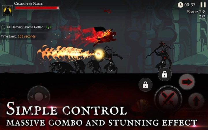 Shadow of Death 1.47.0.0 دانلود بازی اکشن سایه مرگ اندروید + مود