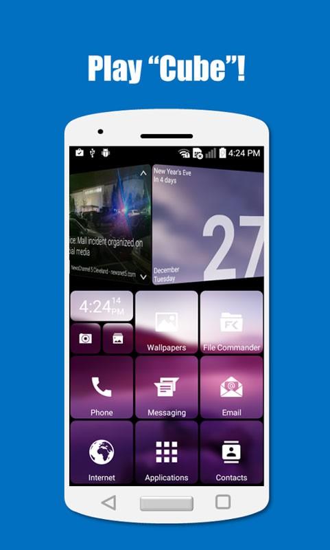 SquareHome 3 Premium 1.9.3 دانلود بهترین لانچر ویندوز 10 اندروید