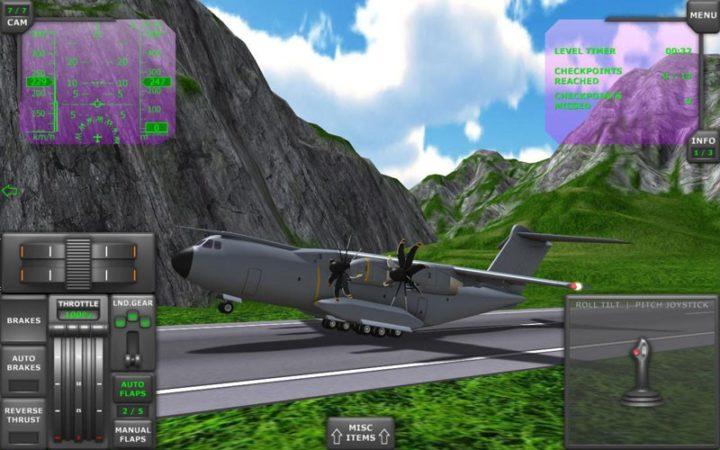دانلود Turboprop Flight Simulator 3D 1.26.2 – بازی شبیه ساز پرواز توربوپراپ اندروید + مود