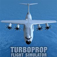 Turboprop Flight Simulator 3D 1.22 دانلود بازی شبیه ساز پرواز توربوپراپ اندروید + مود