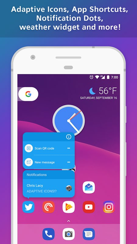 Action Launcher Plus: Pixel Edition 39.0 دانلود لانچر قدرتمند اندروید