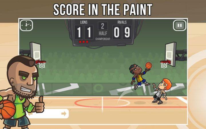 Basketball Battle 2.1.14 دانلود بازی نبرد بسکتبال اندروید + مود