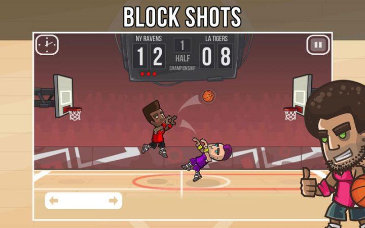 Basketball Battle 2.1.13 دانلود بازی نبرد بسکتبال اندروید + مود