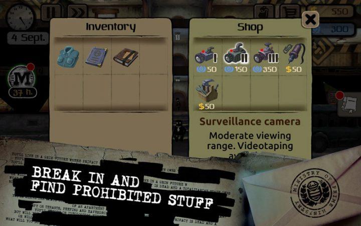 Beholder 2.0.0 دانلود بازی ماجراجویی فوق العاده جاسوسی اندروید + مود + دیتا