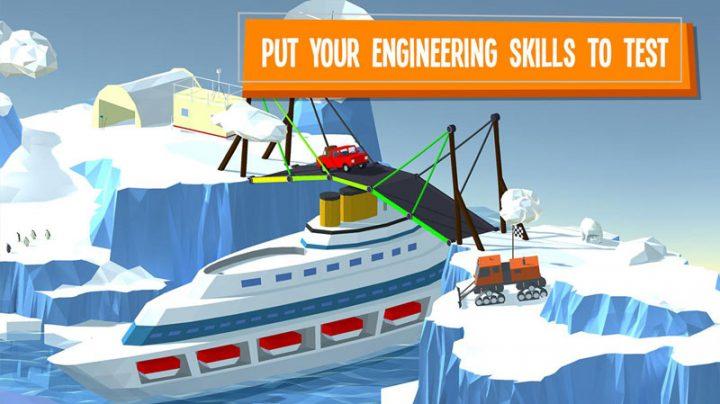 دانلود Build a Bridge 4.0.7 بازی پازل و فکری پل سازی اندروید + مود