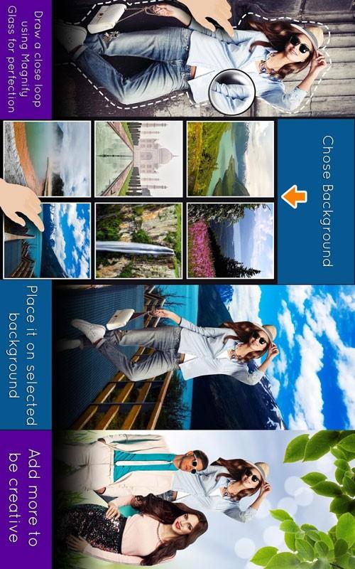 Cut Paste Photos Pro 9.0.2 دانلود نرم افزار برش و چسباندن عکس اندروید
