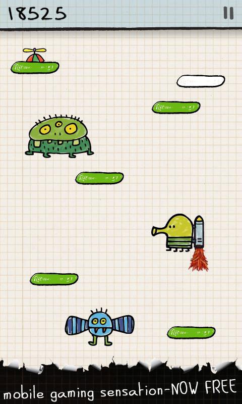 Doodle Jump 3.11.4 دانلود بازی اعتیادآور دودل جامپ اندروید + مود