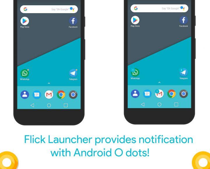 Flick Launcher Pro 0.3.0 Final دانلود لانچر زیبا و حرفه ای فلیک اندروید