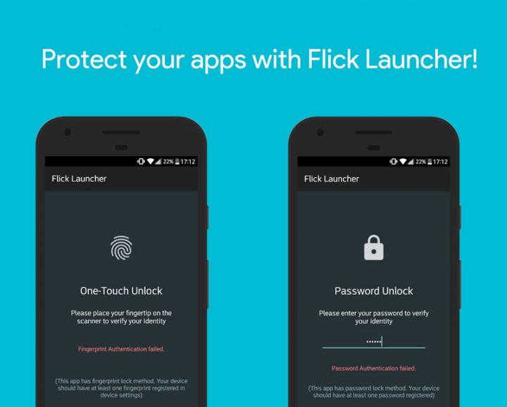 دانلود Flick Launcher Pro 1.0.1 Final لانچر زیبا و حرفه ای اندروید